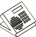Телефон с  громкоговорителем