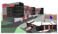 Эскиз торгового центра