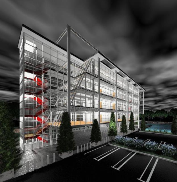 Концептуальный проект офисного здания