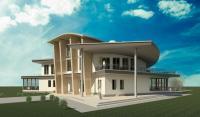 Проект Жилого дома на 2-е семьи